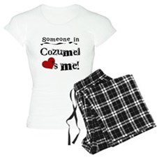 Someone in Cozumel Pajamas