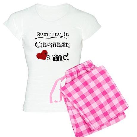 Cincinnati Loves Me Women's Light Pajamas