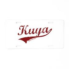 Kuya Aluminum License Plate