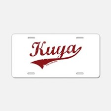 Kuya Aluminum License Plate