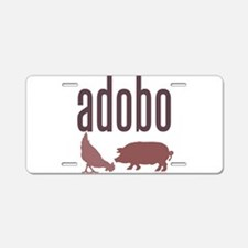Adobo Aluminum License Plate