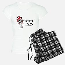 Heart Mississippi Pajamas