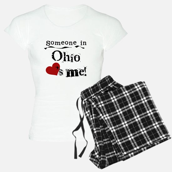 Someone in Ohio pajamas