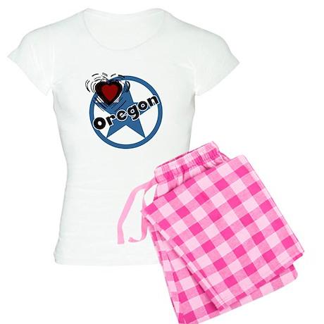 Love Oregon Women's Light Pajamas
