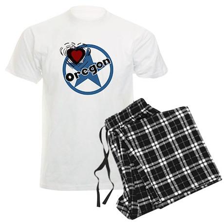 Love Oregon Men's Light Pajamas