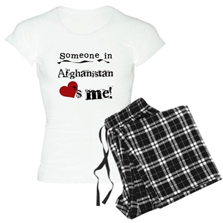 Afghanistan Loves Me Women's Light Pajamas