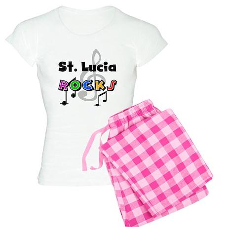 St. Lucia Rocks Women's Light Pajamas