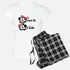 Black & White Beach Bride Pajamas