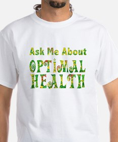 Optimal Health w Financial Freedom on back
