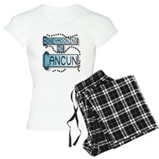 Blue Honeymoon Cancun Pajamas