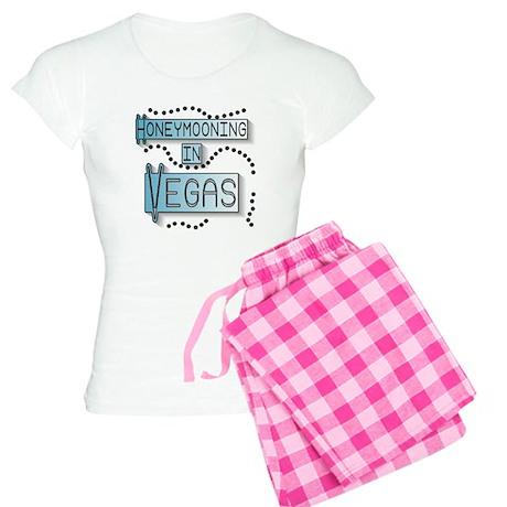 Blue Honeymoon Vegas Women's Light Pajamas