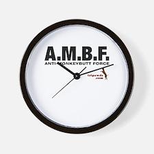 A.M.B.F. Wall Clock