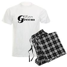 Future Groom Black Pajamas