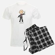 Stick Figure Groom Pajamas