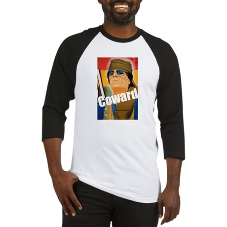Qaddafi - The Great Coward Baseball Jersey
