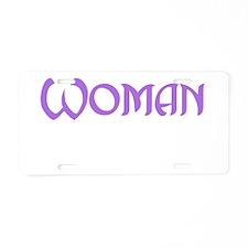 Wisconsin Woman Aluminum License Plate