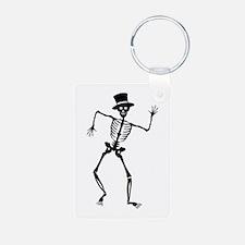 Dancing Skeleton Keychains