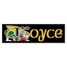 Joyce Celtic Dragon Bumper Bumper Sticker