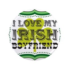 "I Love My Irish Boyfriend 3.5"" Button (100 pack)"