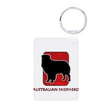 Australian Shepherd Keychains