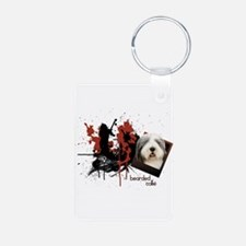 Bearded Collie Keychains