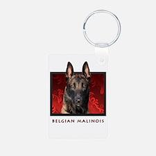 Belgian Malinois Keychains