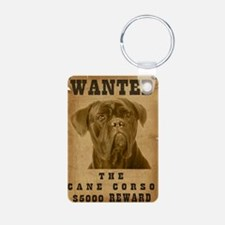 """""""Wanted"""" Cane Corso Keychains"""