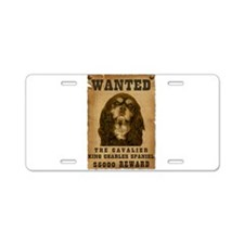 """""""Wanted"""" Cavalier King Charle Aluminum L"""