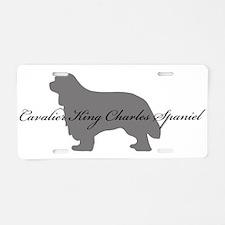 Cavalier King Charles Spaniel Aluminum License Pla