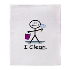 BusyBodies Cleaning Throw Blanket
