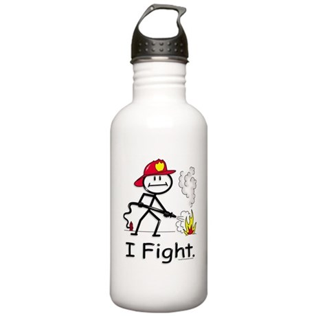 BusyBodies Firefighter Stainless Water Bottle 1.0L