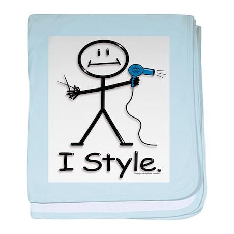 BusyBodies Hairstylist baby blanket