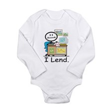 BB Loan Officer Long Sleeve Infant Bodysuit