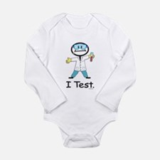 Medical Lab Tech Long Sleeve Infant Bodysuit