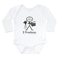 Producer Long Sleeve Infant Bodysuit