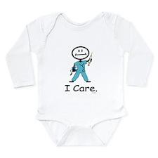 BusyBodies Nurse Long Sleeve Infant Bodysuit