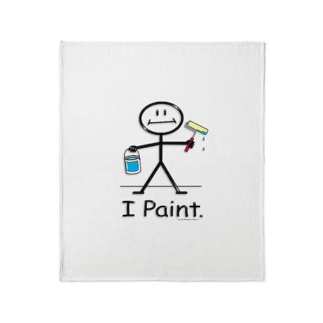 BusyBodies Painter Throw Blanket