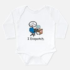 Funny Police dispatcher Long Sleeve Infant Bodysuit
