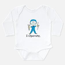 BusyBodies Surgeon Long Sleeve Infant Bodysuit