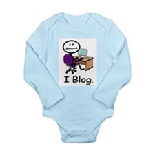 BusyBodies Blogger Long Sleeve Infant Bodysuit