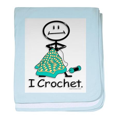 BusyBodies Crochet baby blanket