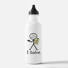 Crossword Puzzles Water Bottle