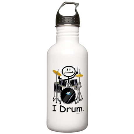 BusyBodies Drummer Stainless Water Bottle 1.0L