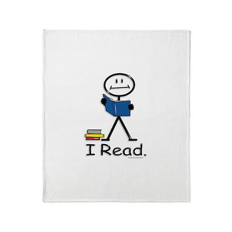 BusyBodies Reading Throw Blanket