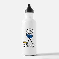 BusyBodies Reading Water Bottle