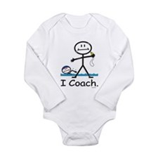 Swimming Coach Long Sleeve Infant Bodysuit