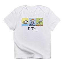 Triathlon Stick Figure Infant T-Shirt