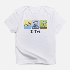 Triathlon Stick Figure Infant T-Shirt