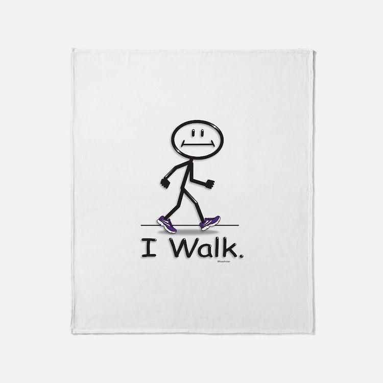 BusyBodies Walking Throw Blanket