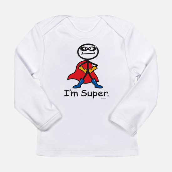 Super Hero Long Sleeve Infant T-Shirt
